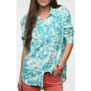 Bycorpus High Low Acid Wash Top